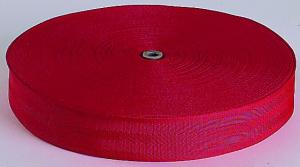 Bande polyester 80 mm Rouge 170 Gr